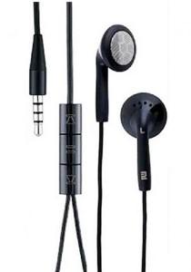 Stereo Earphone Headset Black