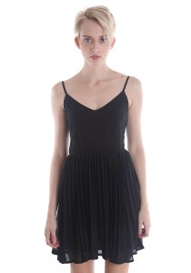 Angel Pleated Cocktail Dress A007BKS