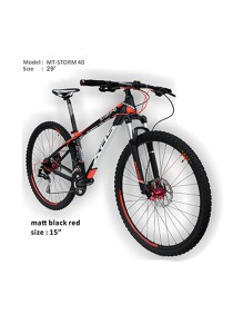 "29"" XDS Storm 40 Matt Black Red (27 Speed) Size S (15"")"