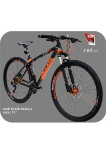 "29"" XDS Storm 50 Matt Black Orange (30 Speed) Size M (17"")"