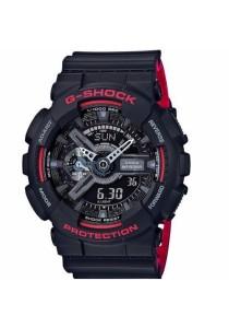 CASIO G-Shock Black & Red Series GA-110HR-1A