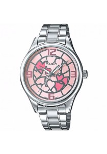 CASIO Analog Ladies LTP-E128D-4A