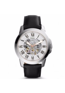 FOSSIL ME3101 Grant Automatic Black Leather Watch
