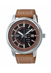CASIO Analog Man Leather MTP-E128L-5AV
