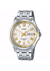 CASIO Analog Man D.Date S.Steel MTP-E131DY-7AV