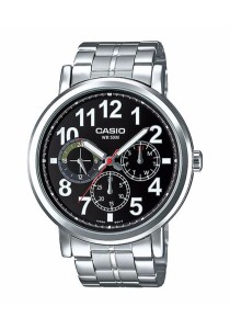 CASIO Multi-hand Man S.Steel MTP-E309D-1AV