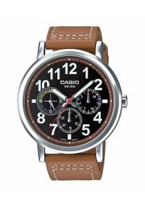 CASIO Multi-hand Man Leather MTP-E309L-5AV