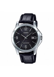 CASIO Leather Touch Solar Watch MTP-VS02L-1A