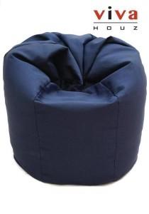 Sunshine Bean Bag - Navy Blue (Waterproof Cover)