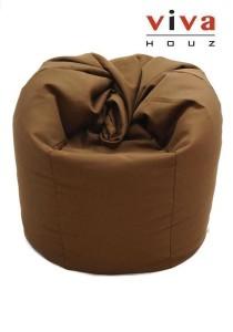 Sunshine Bean Bag - Dark Brown (Waterproof Cover)