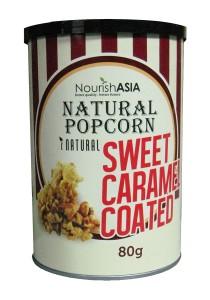 Pack of 6 Nourish Asia I-Natural Caramel Popcorn