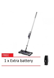 Swivel G8 Rechargeable Quad-Brush Sweeper Max + 1 extra battery