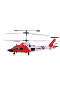 Syma S111G U.S Coast Guard 3.5 Channel Rc Helicopter With Gyroscope Red