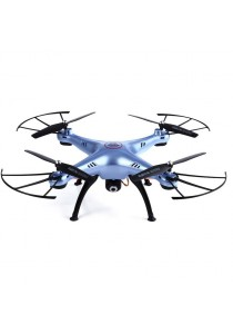 Syma X5HC with 2.0MP Camera RC Quadcopter Drone High Hold Mode Headless Mode (Blue)