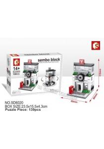 Sembo Block SD6020 AUTO 4S mini street city building blocks (Lego Compatible)