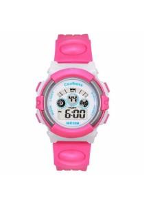 TEEMI Jelly Color Kids Children Boy Girl Waterproof Sports LED Digital Watch Rainbow Back Light
