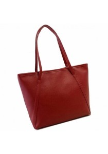 TEEMI Elegant Korean Style PU Leather Large Tote Bag / Handbag / Shoulder Bag