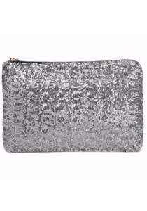 TEEMI Sequins Metallic Glitter Clutch Evening Dinner Purse HandBag Dazzling Sparkling Party Bag