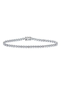 Premium Solitaire Tennis Bracelet Made With Austrian Zirconia