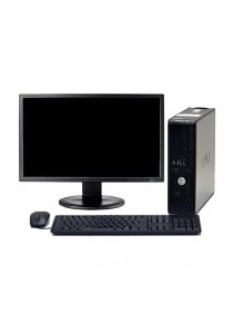 (Refurbished) Dell Optiplex 755 (SFF) Desktop PC + 19