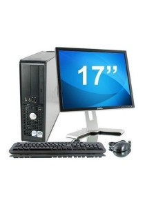 (Refurbished) Dell Optiplex 755 (SFF) Desktop PC + 17