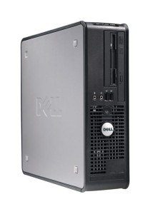 (Refurbished) Dell Optiplex 755 (SFF) Desktop PC + 320 GB Hard Disk + Extended Warranty - 2 Years