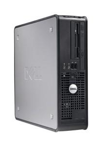 (Refurbished) Dell Optiplex 755 (SFF) Desktop PC + 500GB Hard Disk + USB WiFi Adapter + Extended Warranty - 2 Years