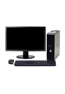 (Refurbished) Dell Optiplex 755 (SFF) Desktop PC + 19