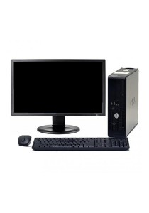 (Refurbished) Dell Optiplex 755 (SFF) Desktop PC + Dell 19