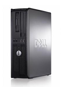 (Refurbished) Dell Optiplex 760 Intel Core 2 Duo (E8400) 3.0 GHz 2GB DDR3 RAM with Dual 17