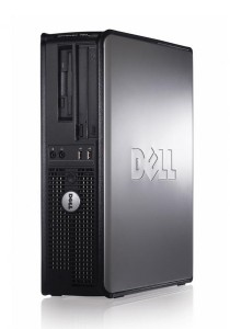 (Refurbished) Dell Optiplex 760 (SFF) Desktop PC + 320 GB Hard Disk + Extended Warranty - 1 Year + USB WiFi Adapter