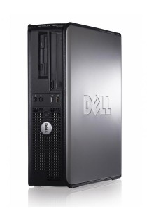 (Refurbished) Dell Optiplex 760 (SFF) Desktop PC + Extended Warranty - 1 Year + Windows 7 Professional (64-Bit) + 320GB Hard Disk + Microsoft Office Home & Business 2016