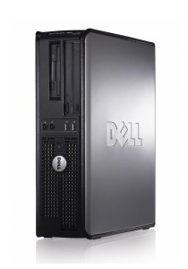 (Refurbished) Dell Optiplex 760 (SFF) Desktop PC + Extended Warranty - 1 Year + Dual 17