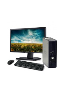 (Refurbished) Dell Optiplex 760 (SFF) Desktop PC + Windows 7 Professional + Dell 17