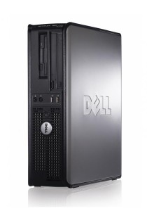 (Refurbished) Dell Optiplex 760 (SFF) Desktop PC + Extended Warranty - 6 Months + Dual 19