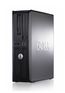 (Refurbished) Dell Optiplex 760 (SFF) Desktop PC + Dell 17
