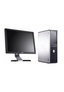 (Refurbished) Dell Optiplex 780 (SFF) Desktop PC + 17