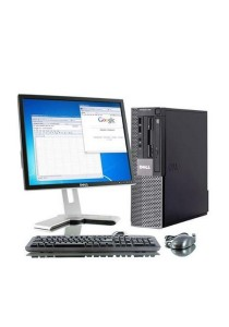 (Refurbished) Dell Optiplex 960 (SFF) Desktop PC + Microsoft Office Home & Business 2016 + 17