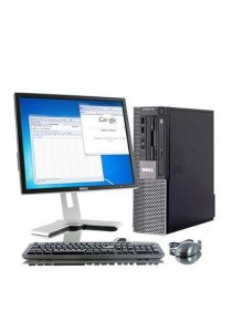(Refurbished) Dell Optiplex 960 (SFF) Desktop PC + Microsoft Office Home & Student 2016 + 17