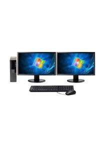 (Refurbished) Dell Optiplex 960 (SFF) Desktop PC + 8GB DDR2 RAM 1 TB Hard Disk - 24 Months Warranty