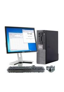 (Refurbished) Dell Optiplex 960 (SFF) Desktop PC + Dell 17