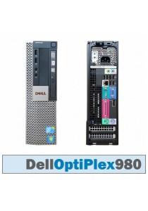 (Refurbished) Dell Optiplex 980 (SFF) Desktop PC + Windows 7 Professional (64-bit) + WiFi USB Adapter + 8GB DDR3 RAM + 500GB Hard Disk + Extended Warranty - 6 Months