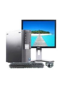 (Refurbished) Dell Optiplex 980 (SFF) Desktop PC + 19