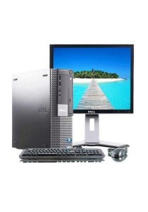 (Refurbished) Dell Optiplex 980 (SFF) Desktop PC + Dell 17