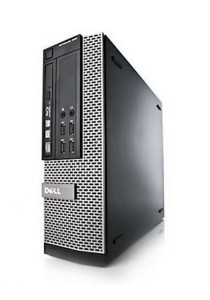 (Refurbished) Dell Optiplex 990 (SFF) Desktop PC + 8GB DDR2 RAM + Extended Warranty - 12 Months