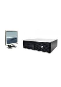 (Refurbished) HP Compaq DC5800 (SFF) Desktop PC + 17