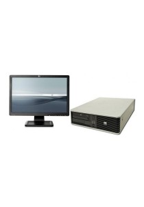 (Refurbished) HP Compaq DC7900 (SFF) Desktop PC + 19