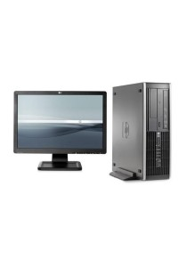 (Refurbished) HP Compaq Elite 8000 (SFF) Desktop PC + 19