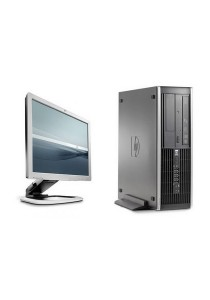 (Refurbished) HP Compaq Elite 8000 (SFF) Desktop PC + Windows 7 Professional + 17