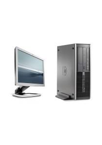 (Refurbished) HP Compaq Elite 8000 (SFF) Desktop PC + 17